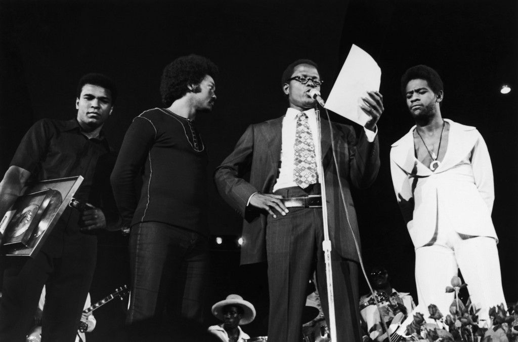 Muhammad Ali; Jesse Jackson; Sidney Poitier; Al Green