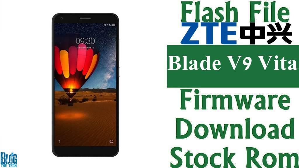 Flash File] ZTE Blade V9 Vita V0920 Firmware Download [Stock Rom