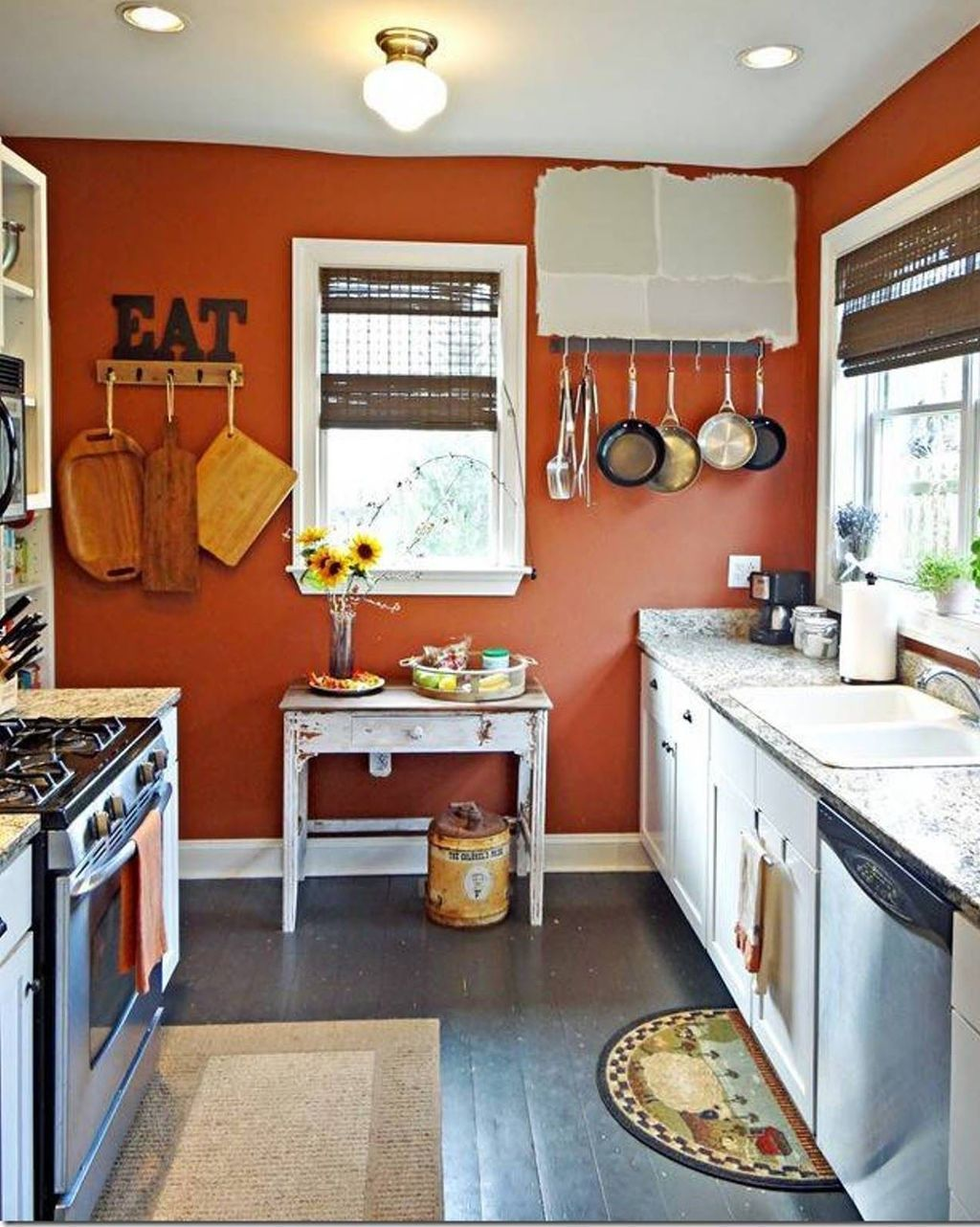 4 Adorable Kitchen Decorating Ideas With Bright Colours That You