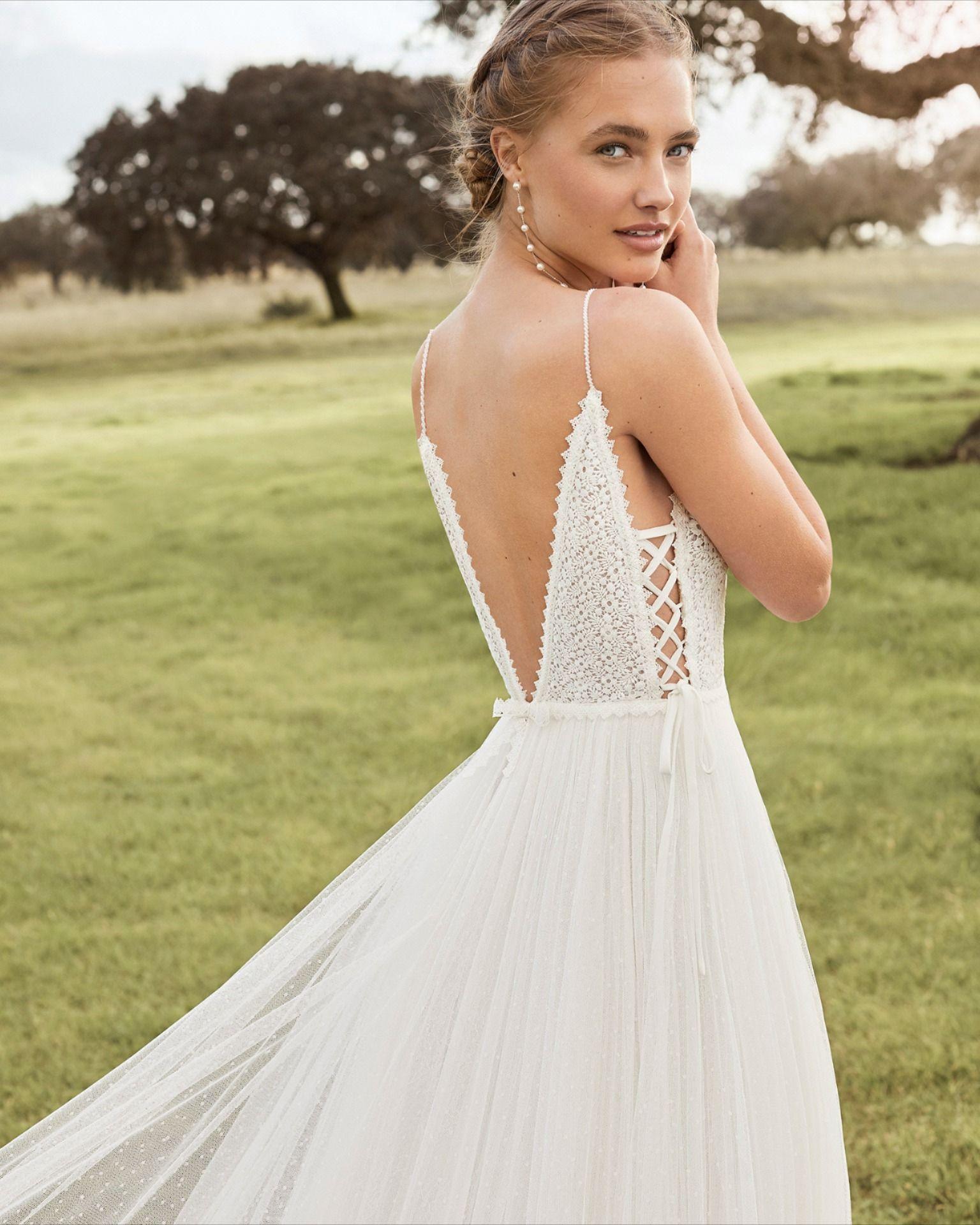 Aquiles Summer Wedding Dress Beach Wedding Dresses Wedding Dresses Photos [ 1920 x 1536 Pixel ]