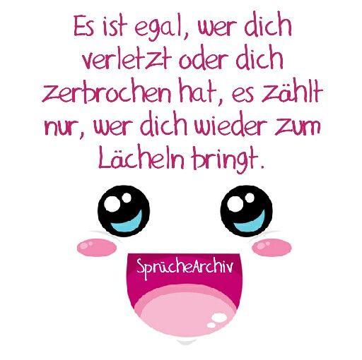 #spruch #lächle #smile #happy #lebensmotto #zerbrochen #glücklichsein