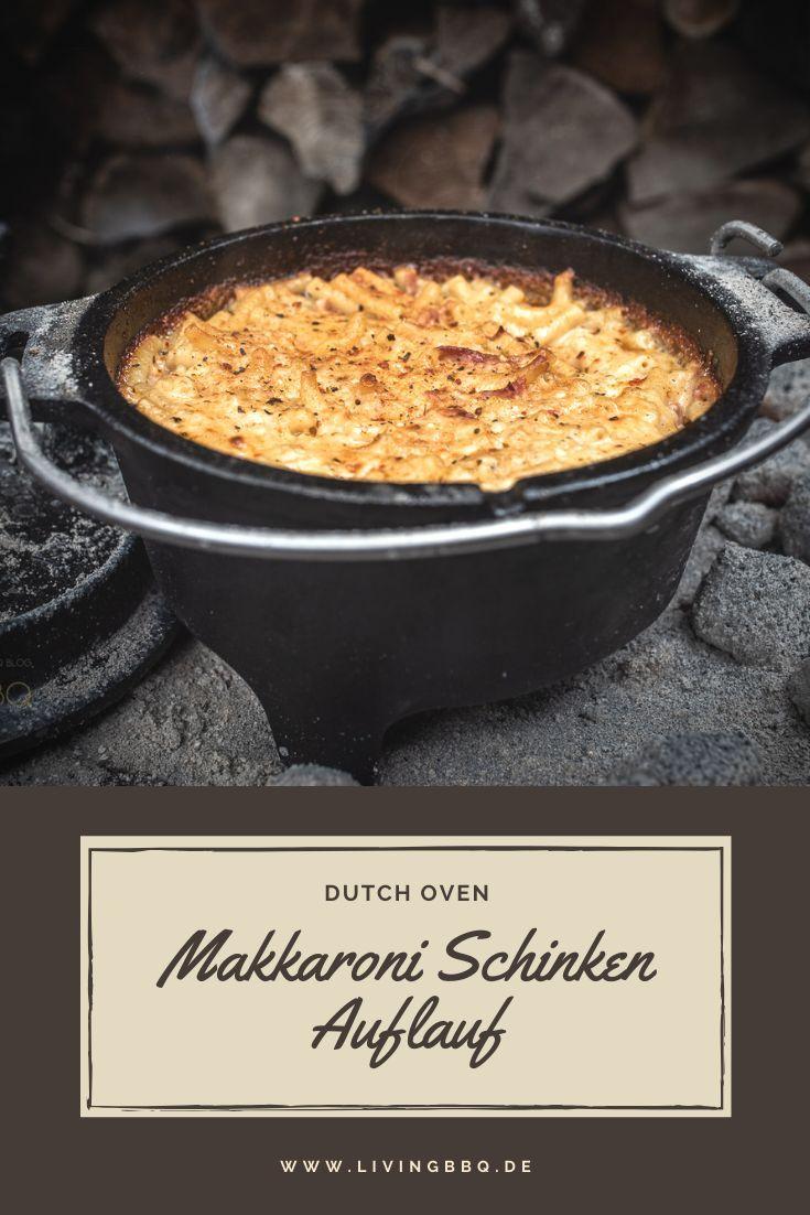 Makkaroni Auflauf mit Schinken und Käse | LivingBBQ.de