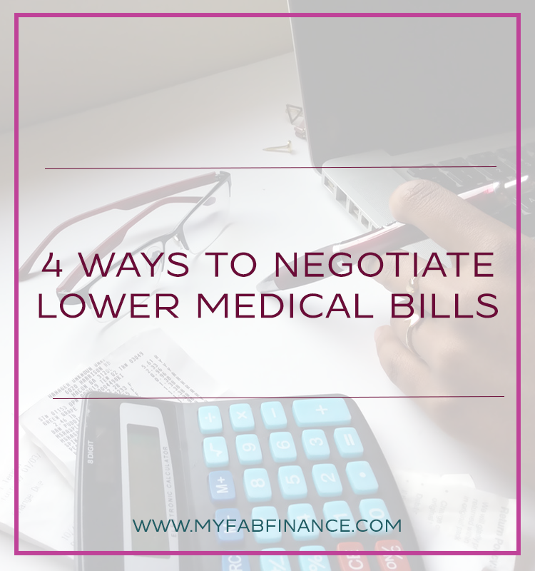 4 Ways to Negotiate Lower Medical Bills Medical billing