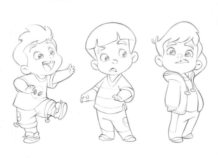 Cute Little Cartoon Boy By Anderson Mahanski The Cutest Drawings You Will Ever Find By This Boy Cartoon Drawing Cartoon Illustration Cartoon Character Design