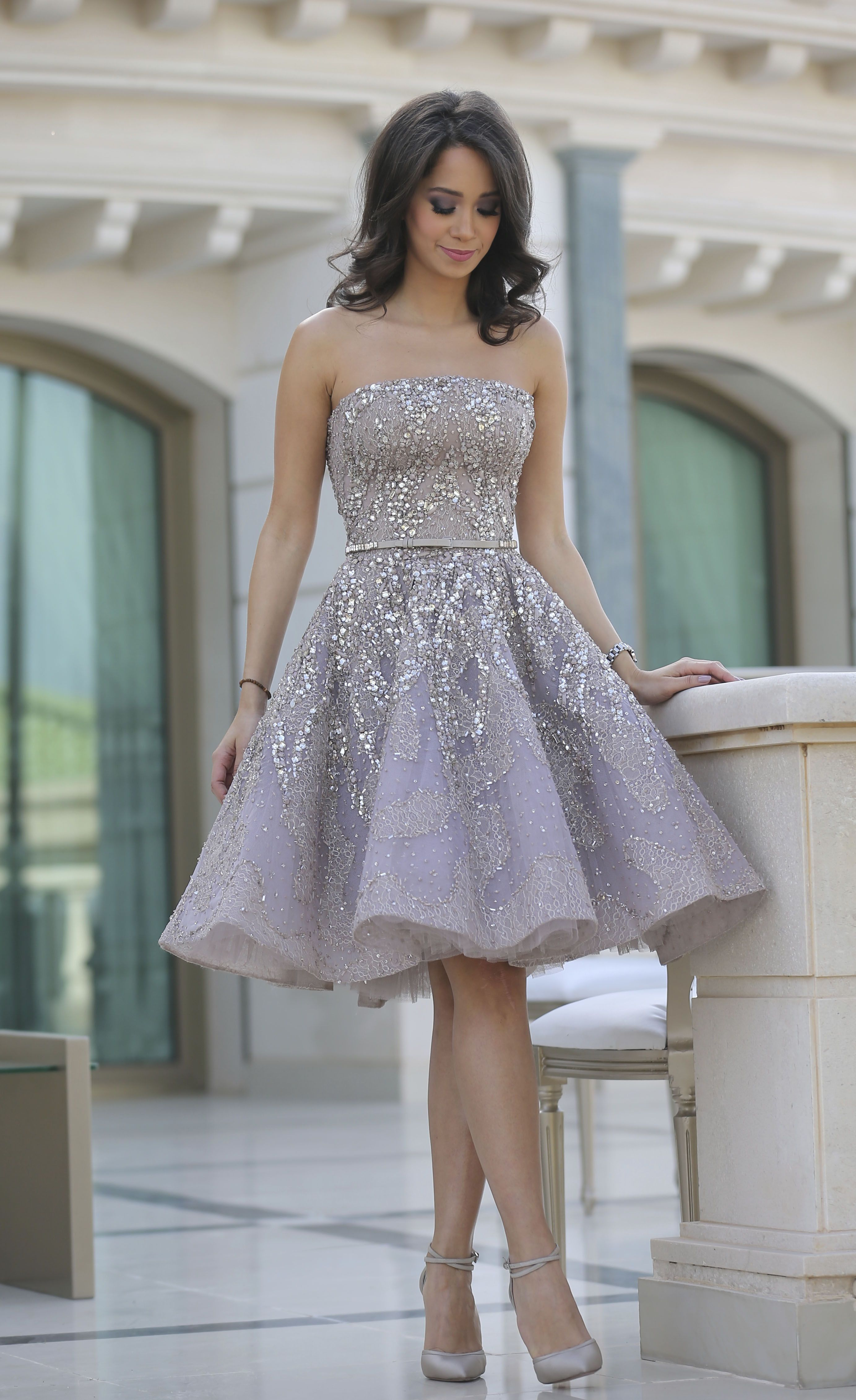 f24060b291536 purple strapless homecoming dresses with beaded