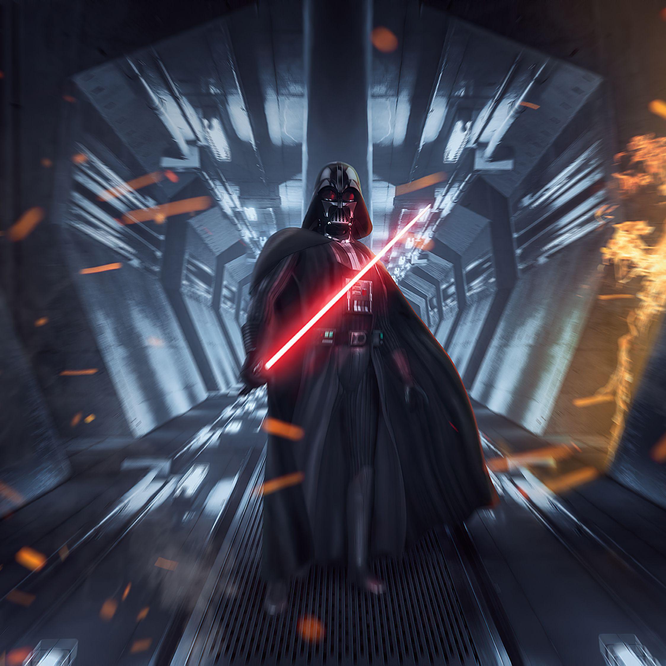 2248x2248 Darth Vader, Star Wars Dark Forces, video game