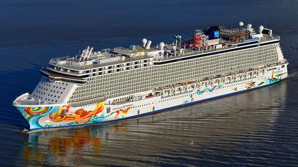 Norwegian Getaway First Sails Norwegian Getaway Conveyance Photo - Best norwegian cruise ship