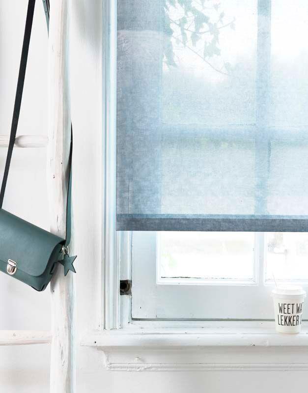 Karwei deze lichtdoorlatende rolgordijnen geven kleur aan je interieur en zijn tegelijkertijd - Kleur aan loungeeetkamer ...