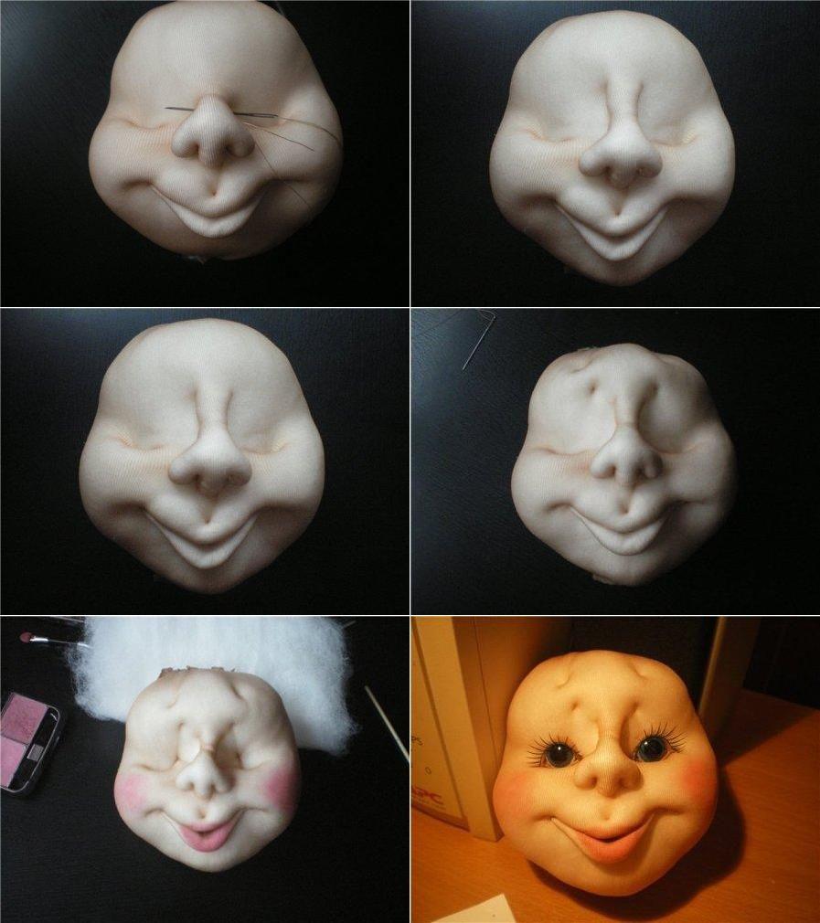 Как шить кукол из колготок своими руками