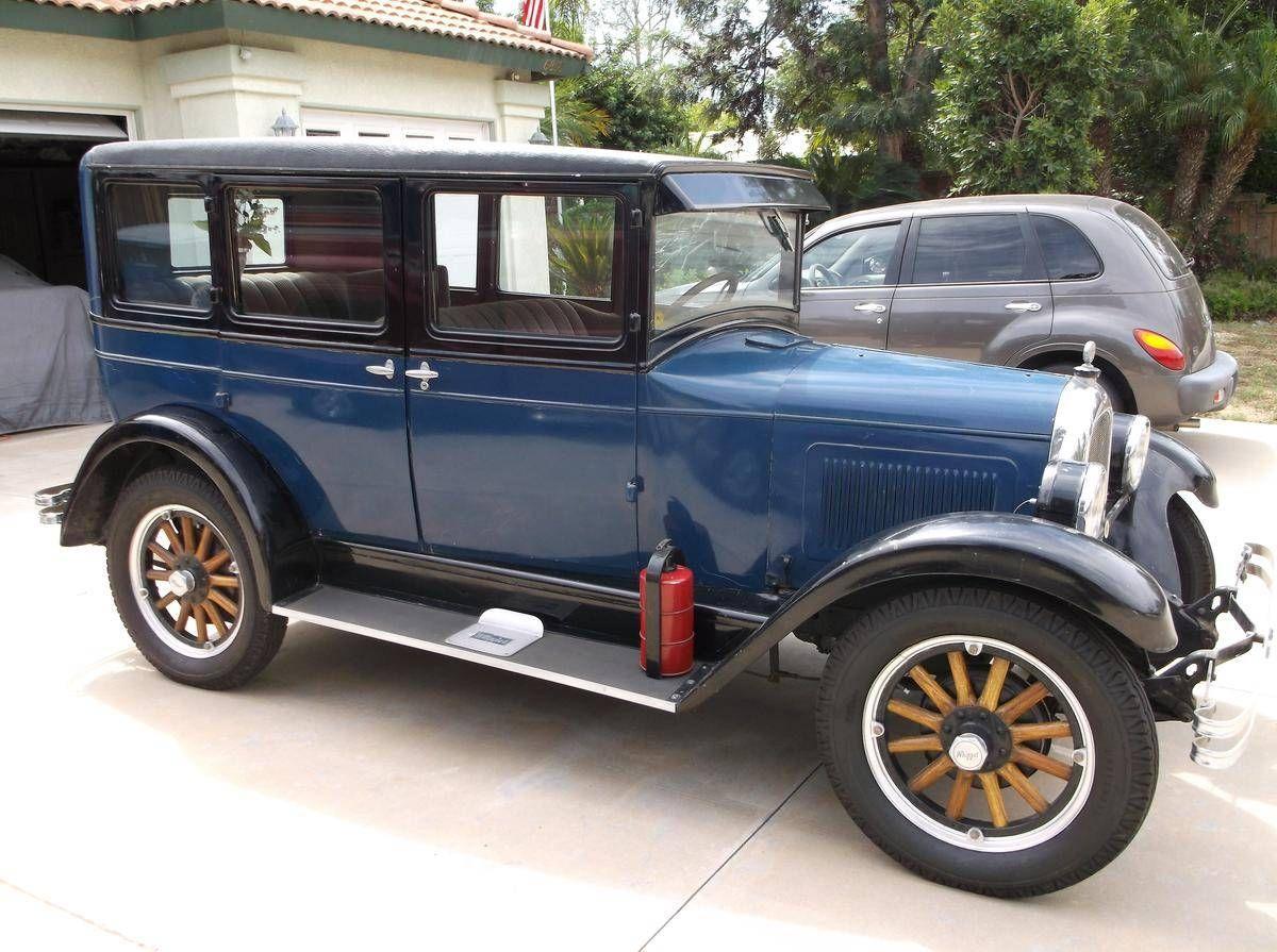 1928 Willys Overland Whippet Willys Whippet Overlanding