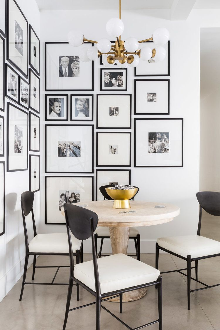 A Coordinated Gallery Wall Lend This Dining Room Mult