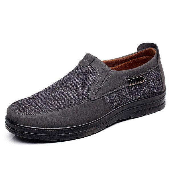 Vieux Slip De Match De Couleur Sur Les Chaussures Pékin Plates Occasionnels vRIjB