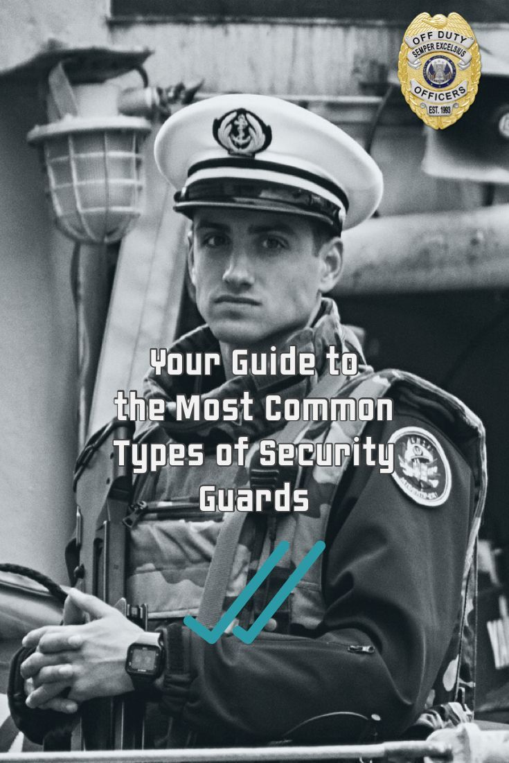 Are you considering a career as a security guard are you