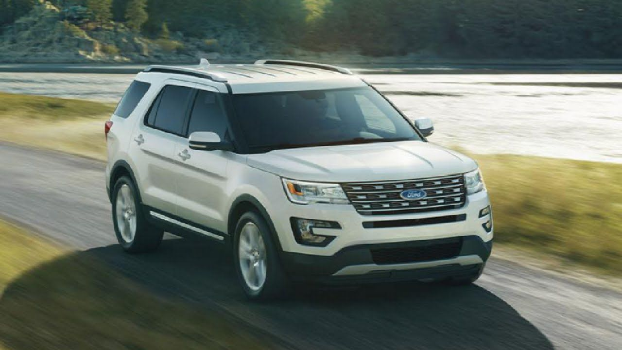 The New 2016 Ford Explorer Ford explorer, Ford explorer