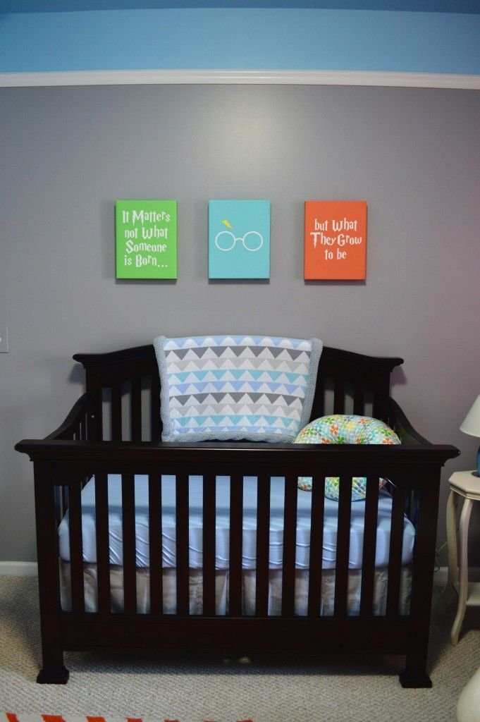 Baby Boy Room Color Ideas: Colorful Nursery For Baby Boy Ryland