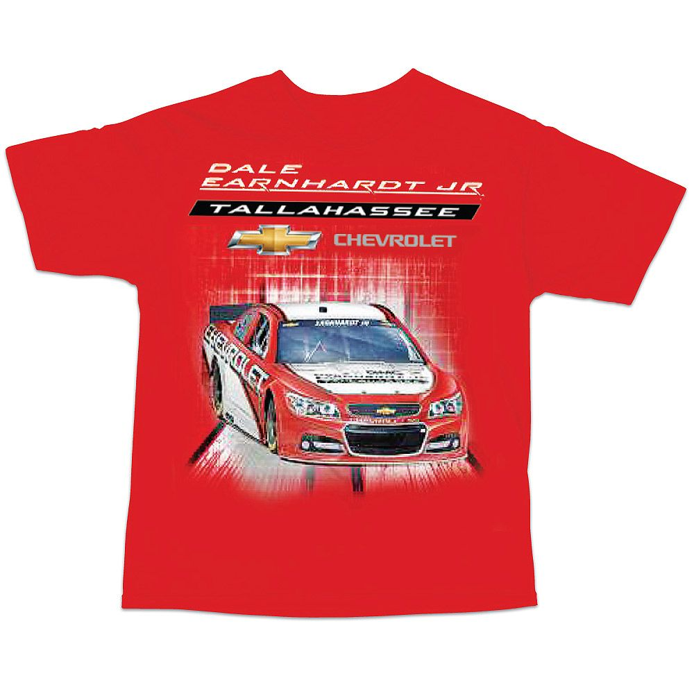 Dale Earnhardt Jr. Chevrolet Dealership T Shirt