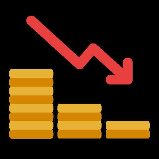 Free Coin Statistics Icon Social Media Icons Free Coin Icon Icon