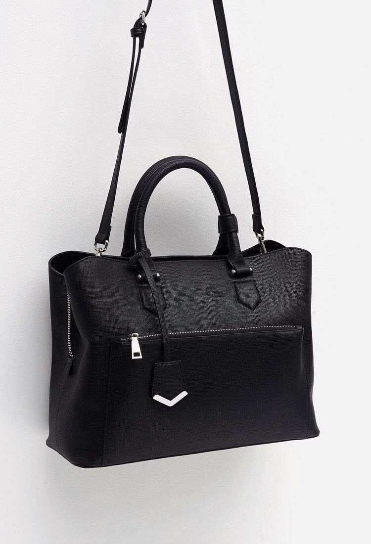 068425e1db Zara - Office city bag | Accessories | Wants | Bags, Leather office ...