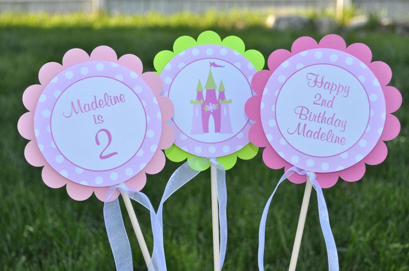 cupcake name toppers for 1st Birthday cupcake toppers 10 12