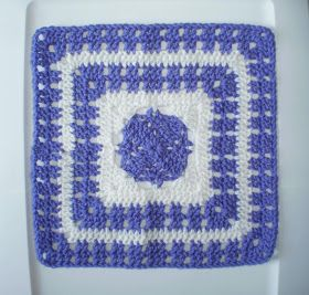 """The Left Side of Crochet: Majesty Square 12"""""""