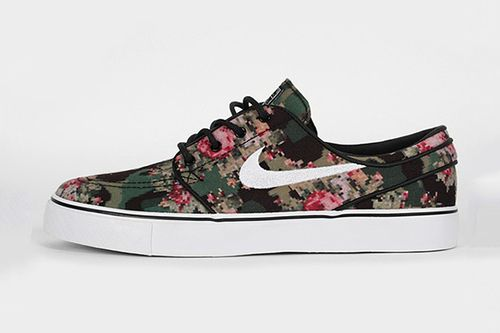 Nike Sb Janoski Floral Tumblr