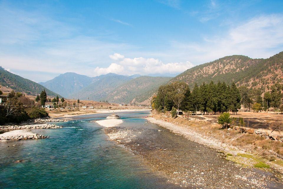 Imagen gratis en Pixabay Bután, Paisaje, Montaña