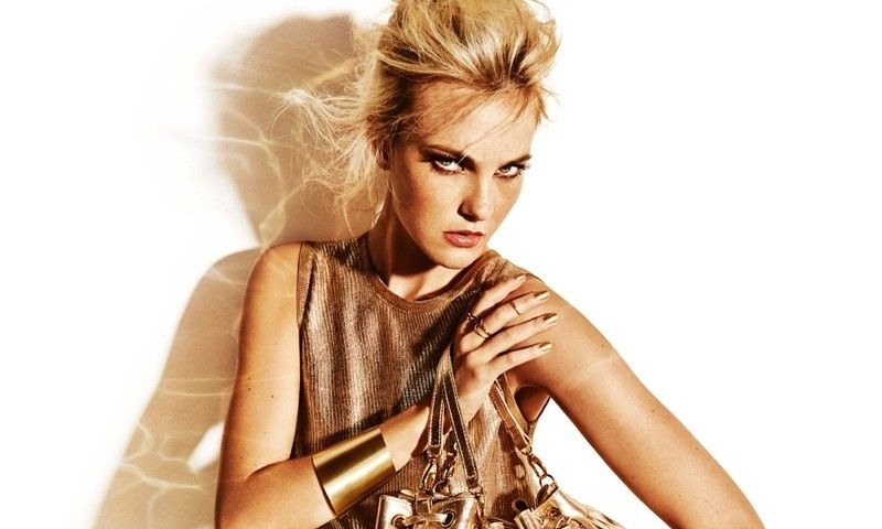 Caroline Trentini Shines Like Gold for Carrano Summer 2016 Campaign - Fashion Gone Rogue