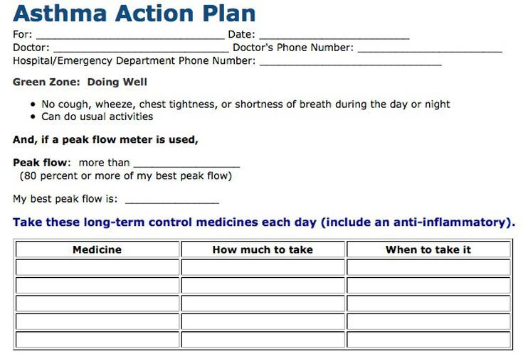 Things To Do For Better Asthma Control  Asthma