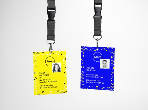 Id Card Mockup Freebies Fribly Event Badges I D Card Mockup Free Psd