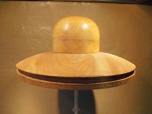Vintage Hat Block