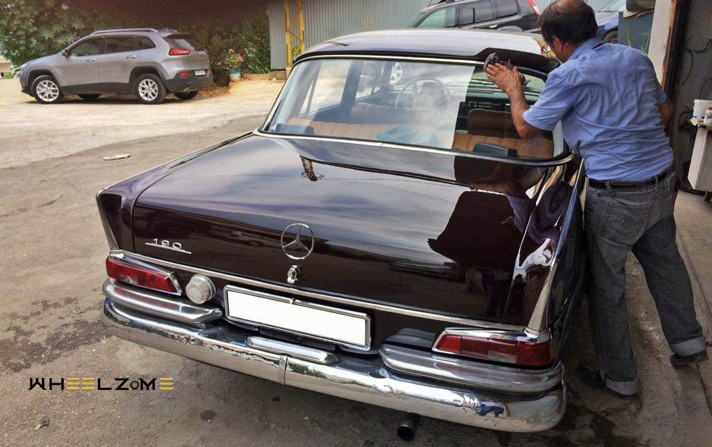 مرسيدس بنز 190 من عام 1965 Mercedes Benz 190 Mercedes Mercedes Benz