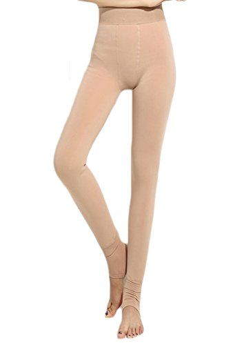761d62c8e6233 LA Helena Womens Warm Winter Fleece Lined Thermal Tights Leggings Nude *  Visit the image link more details. (Note:Amazon affiliate link)