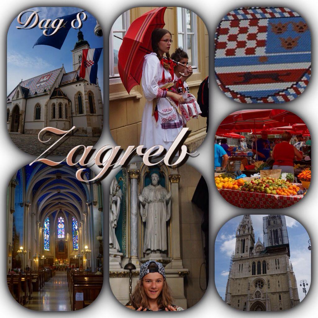 Zagreb in Kroatië