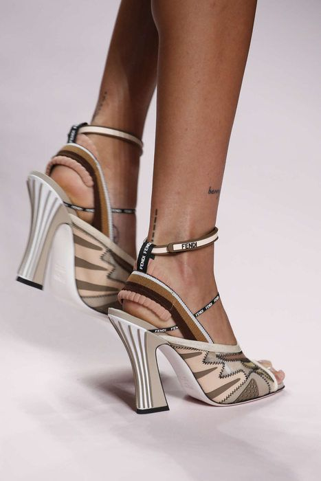 Fendi | Women shoes, Timeless shoes, Heels