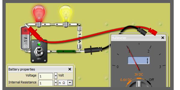 simulation de circuits lectriques en ligne simulate. Black Bedroom Furniture Sets. Home Design Ideas