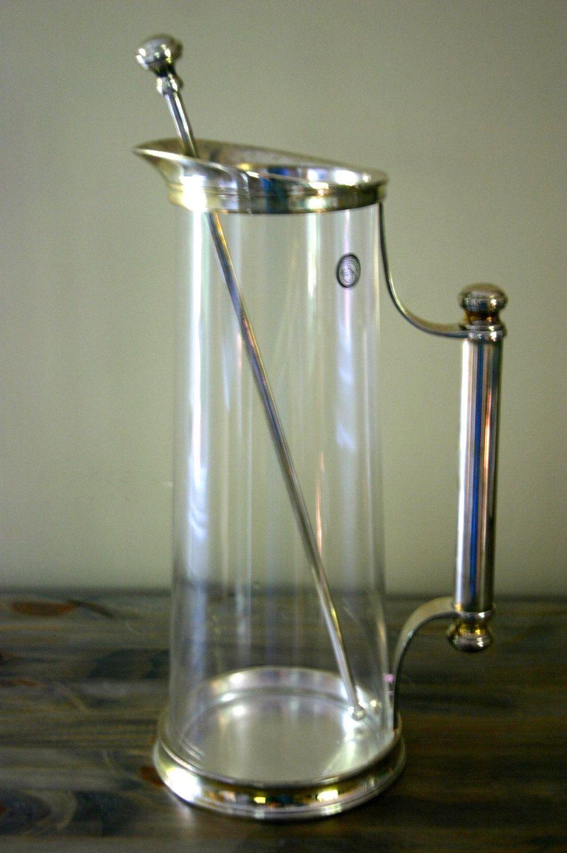 Vintage Godinger Silver Art Co Ltd Martini Pitcher 42