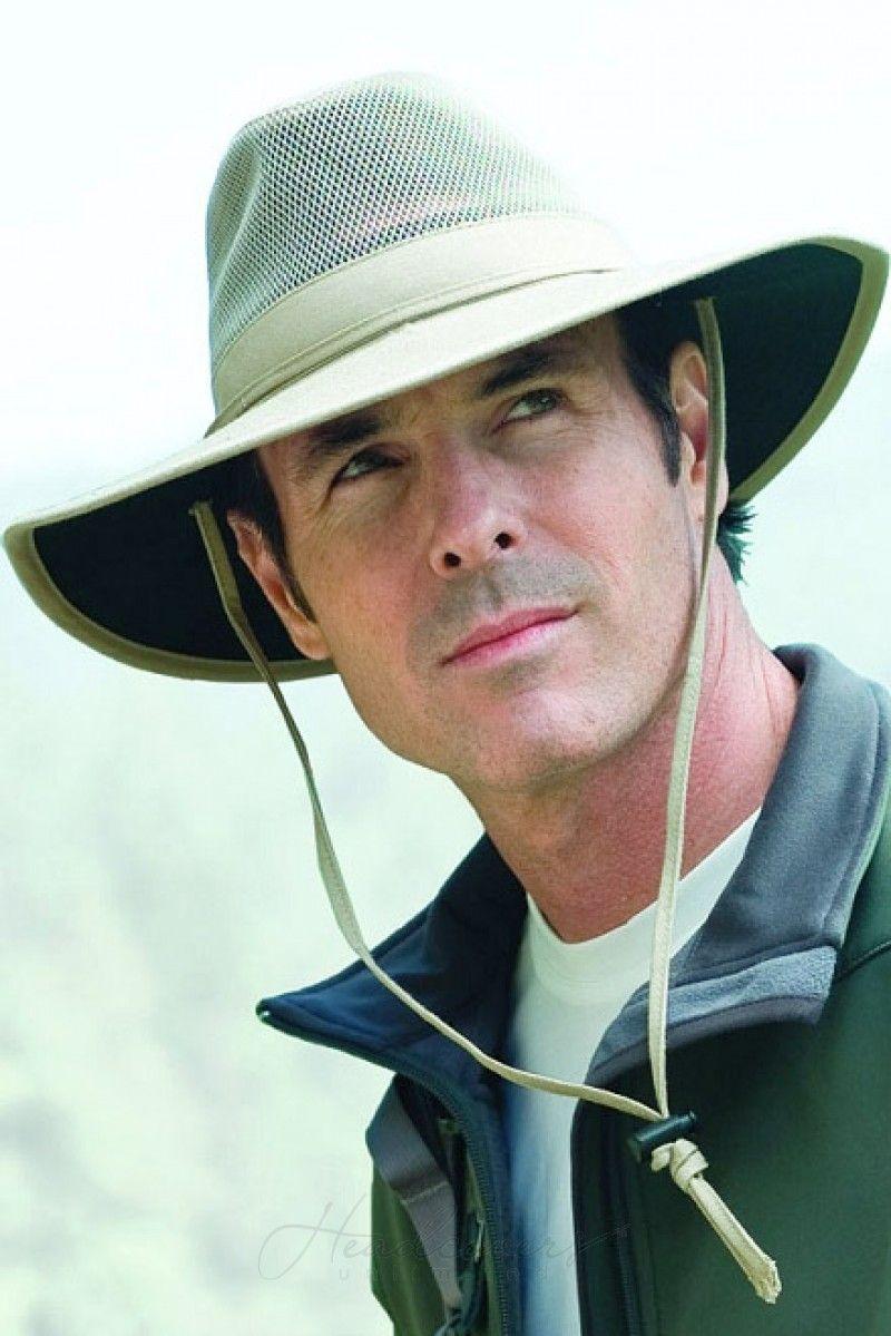 7841ec673 Mens Solarweave Safari Hat | Summer Headwear & Sun Protection Hats ...