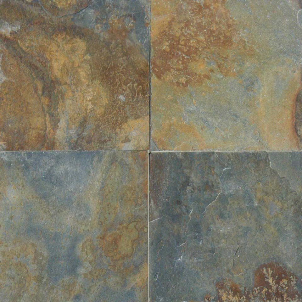 China Multi Color Slate Tile Slabs Our Front Entry And Patio