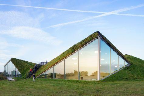 Architecture. Biesbosch Museum, National Park De Biesbosch, the Netherlands.  Architect: Studio Marco Vermeulen.