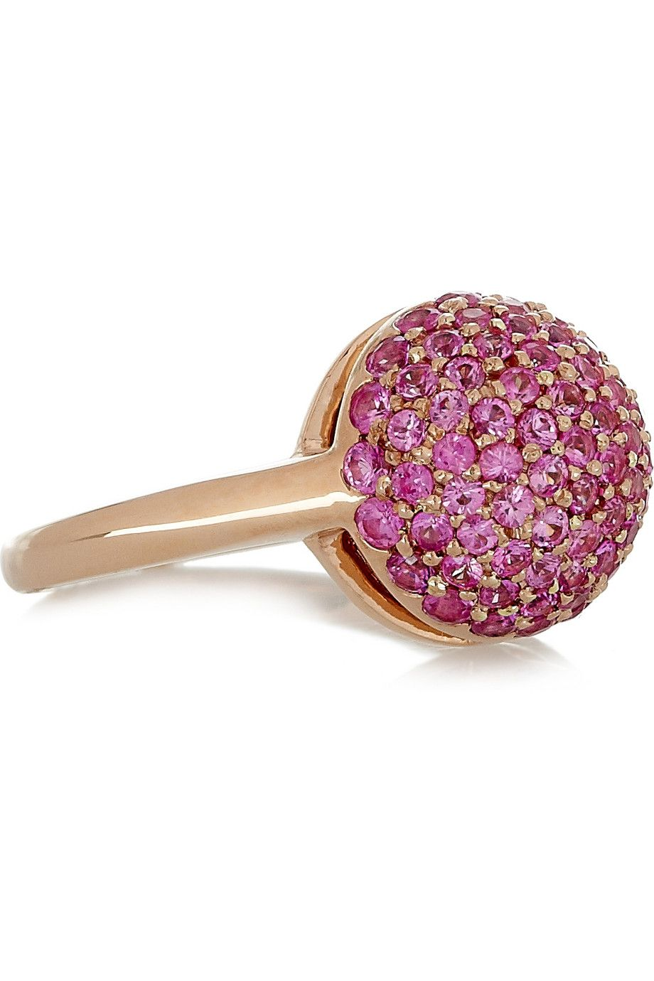 Carolina Bucci 18-karat Rose Gold Diamond Ring 83HOhpLu