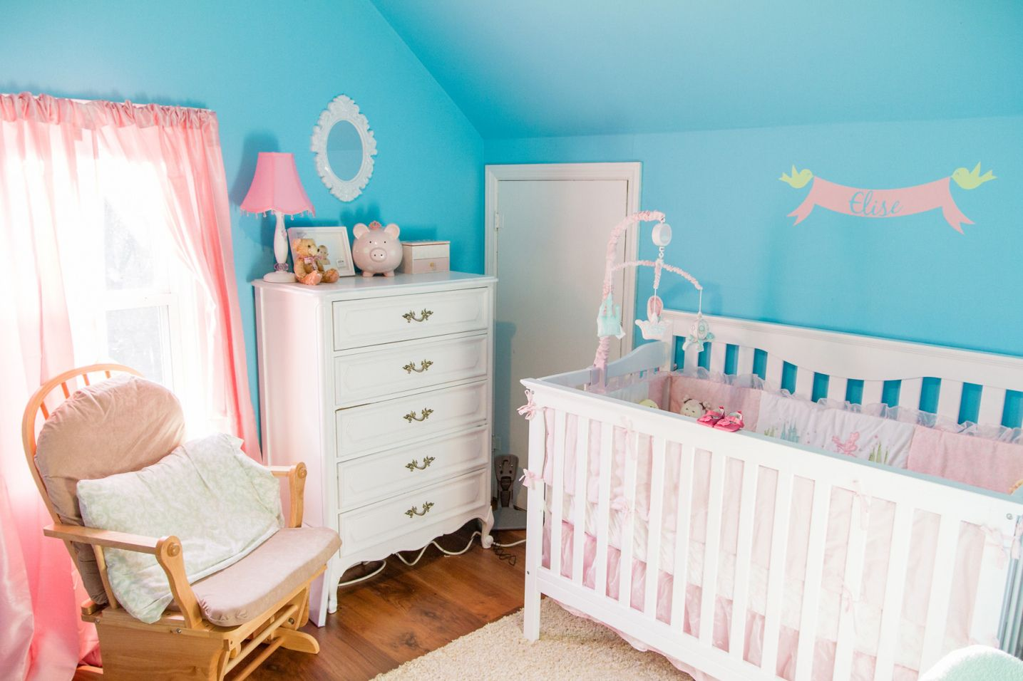 fascinating Tiffany Blue Nursery Ideas Part - 4: 70+ Tiffany Blue Baby Room - Best Paint to Paint Furniture Check more at  http