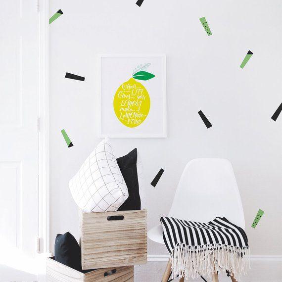 printable nursery prints, lemon, fruit, yellow, printable wall art