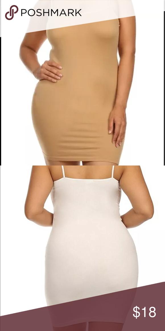 926d9252c Plus Size Seamless Slip Dress Extender