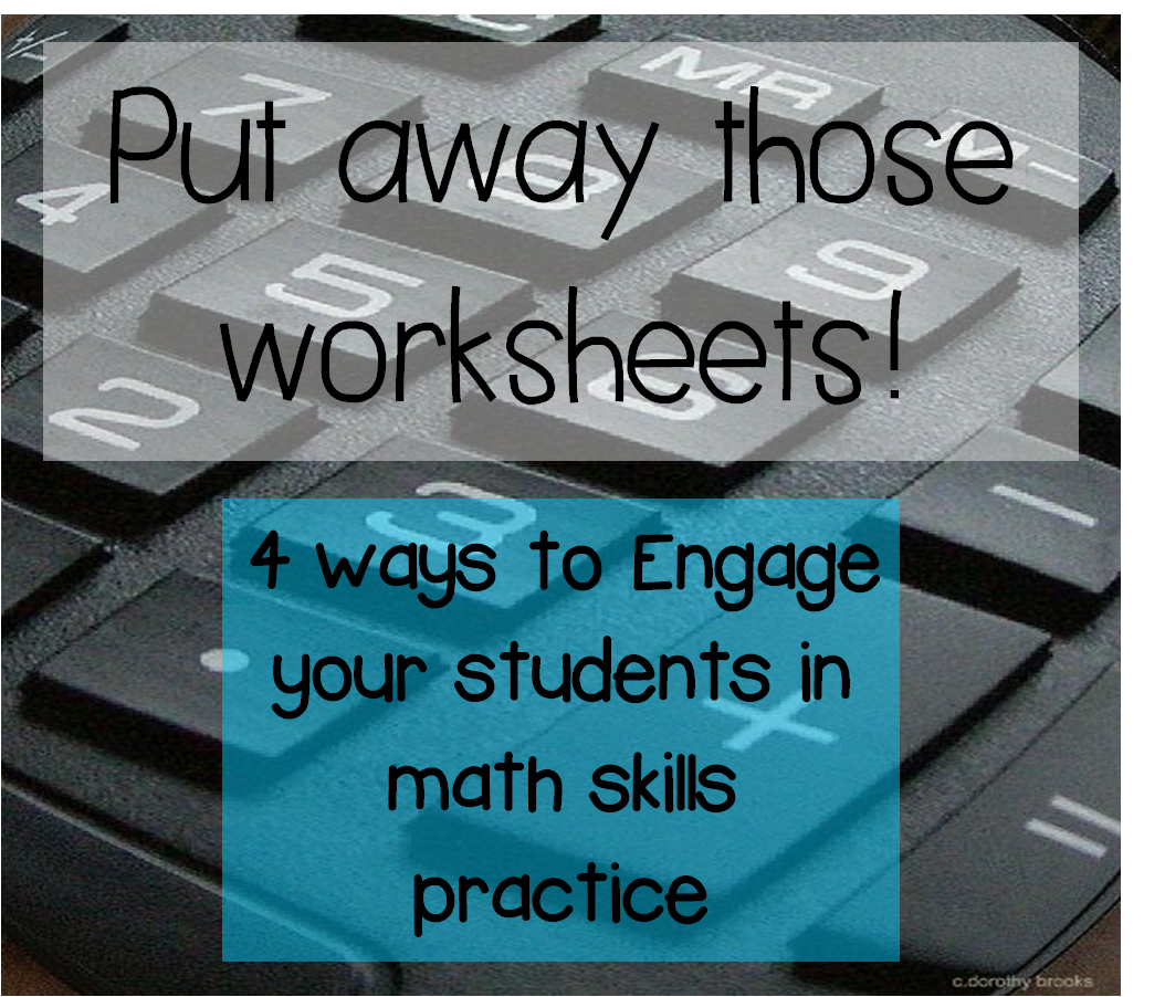 Primary Teacherhood 4 Engaging Ways To Practice Math Without Worksheets