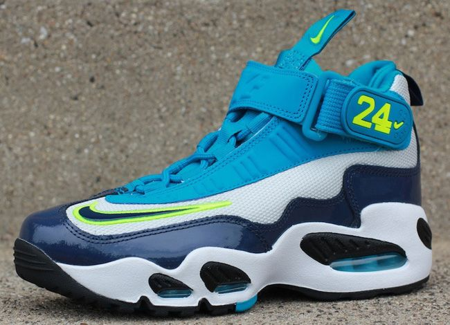 newest 097f4 cd2a3 ... discount code for nike air max griffey 1 gs midnight navy neo turquoise  i have thessse