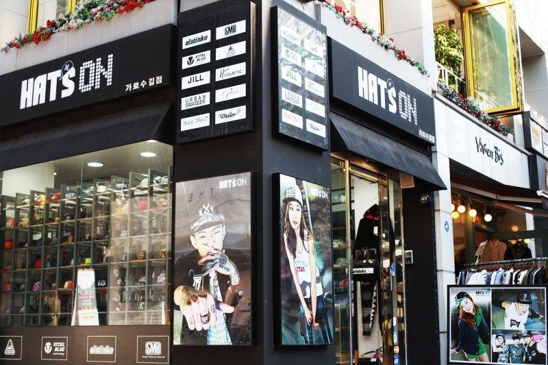 HATS ON Located in Garosugil SEOUL SHOPPING Pinterest
