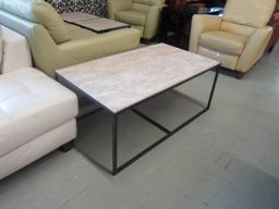 Hammary Marble Top Coffee Table