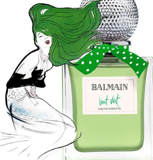 Balmain Vent Vert #perfume The most green.