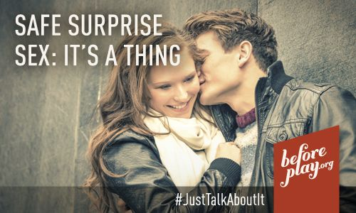 (Guest Post) Safe Surprise Sex: Its a thing #GetTalking