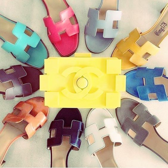 """881d83a6846e Must Have Item  The Hermes """"Oran"""" Sandals http   www."""